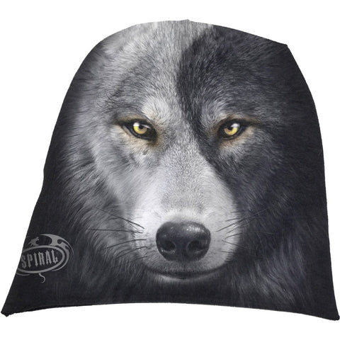 WOLF CHI - Light Cotton Beanies Black - Spiral USA