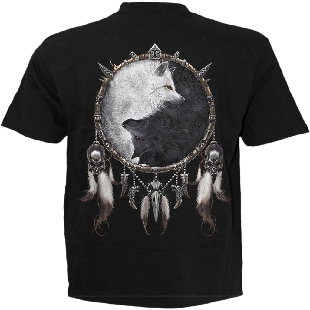 WOLF CHI - T-Shirt Black - Spiral USA