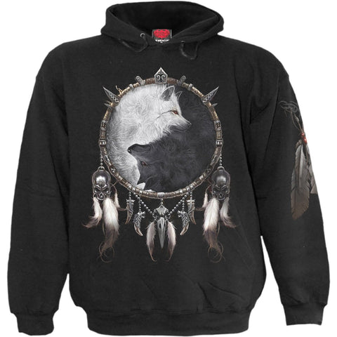 Image of WOLF CHI - Hoody Black - Spiral USA