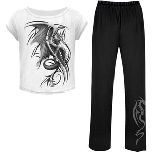 WYVERN - 4pc Gothic Pyjama Set - Spiral USA