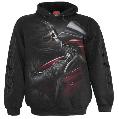 DEMON BIKER - Hoody Black - Spiral USA