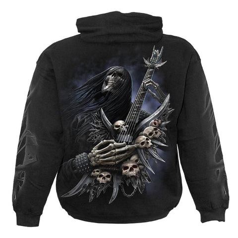 ROCK ON - Hoody Black - Spiral USA