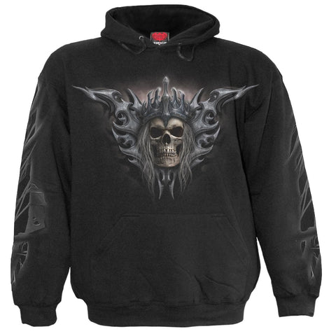 Image of DEATH'S ARMY - Hoody Black - Spiral USA