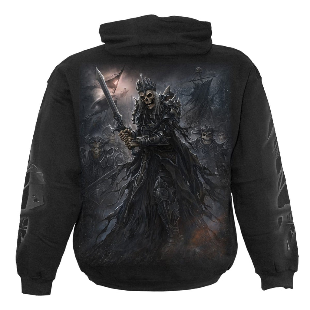 DEATH'S ARMY - Hoody Black - Spiral USA