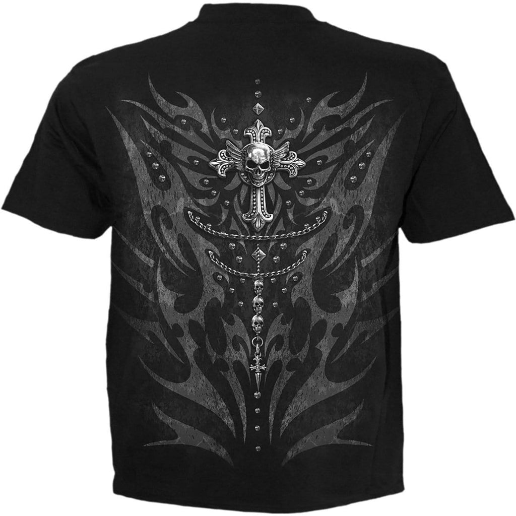 TRIBAL CHAIN - T-Shirt Black