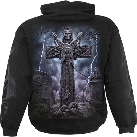 Image of ROCK ETERNAL - Hoody Black - Spiral USA