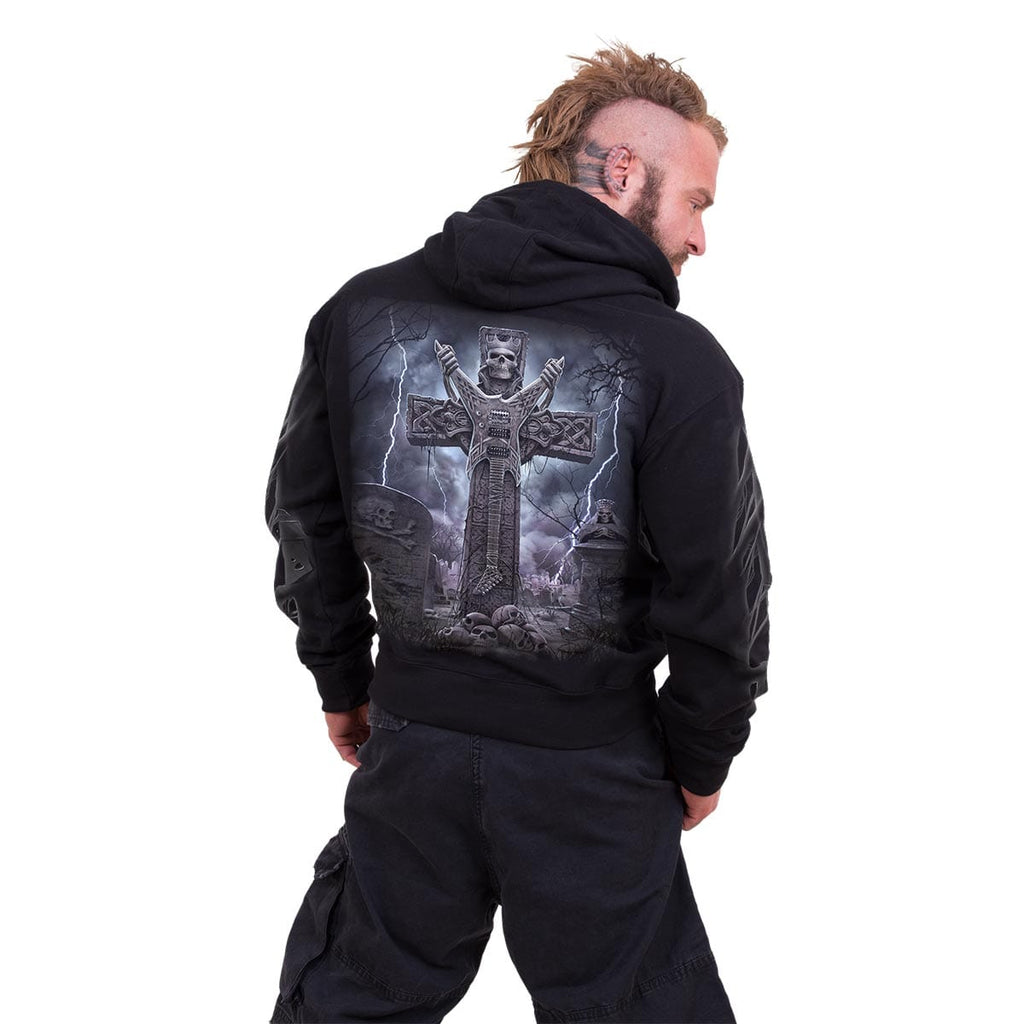 ROCK ETERNAL - Hoody Black - Spiral USA