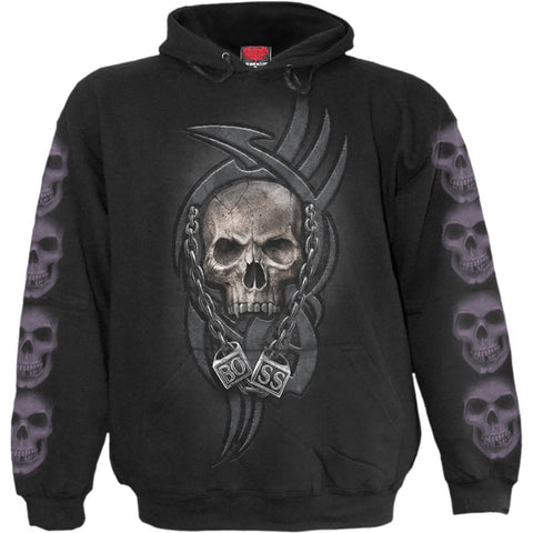 Image of BOSS REAPER - Hoody Black - Spiral USA