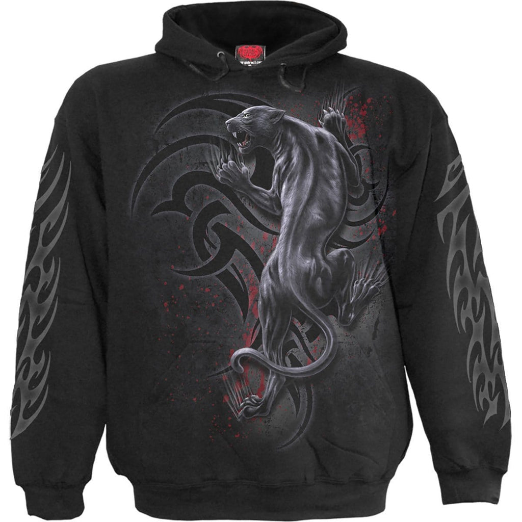 TRIBAL PANTHER - Hoody Black - Spiral USA