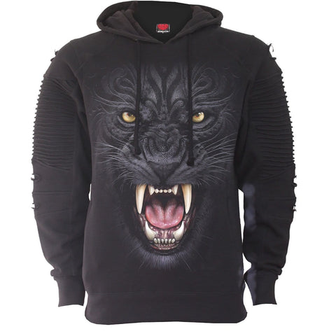 Image of TRIBAL PANTHER - Premuim Biker Fashion Mens Hoodie