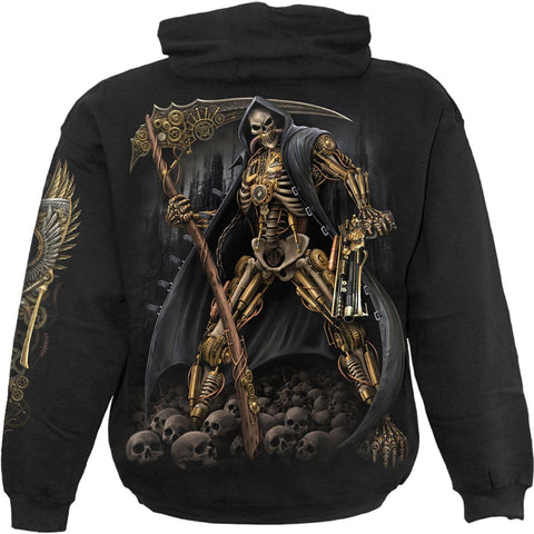 STEAMPUNK SKELETON - Hoody Black - Spiral USA