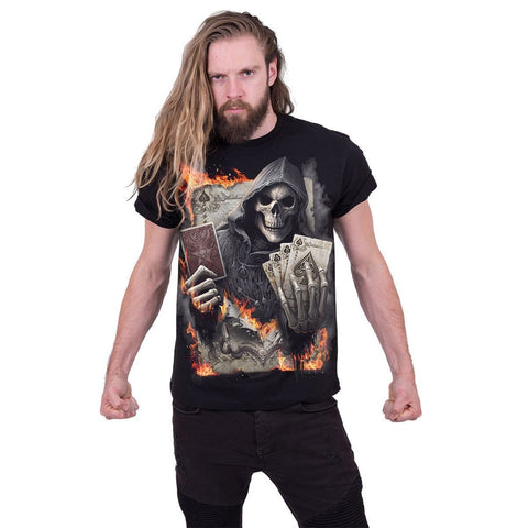 Image of ACE REAPER - T-Shirt Black - Spiral USA