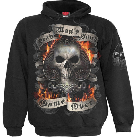 Image of ACE REAPER - Hoody Black - Spiral USA