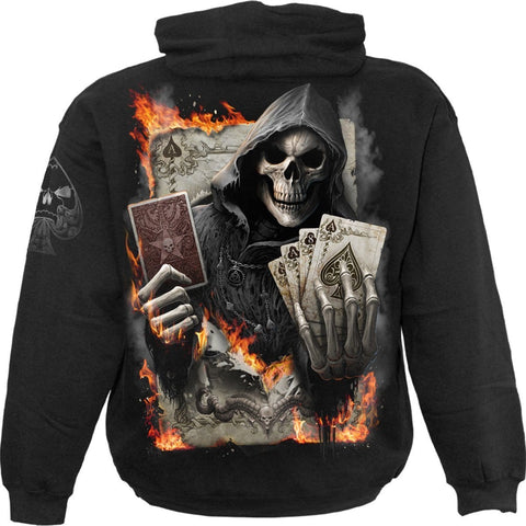 ACE REAPER - Hoody Black - Spiral USA