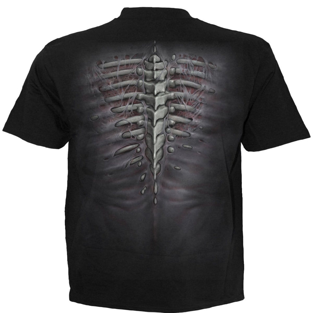 RIPPED - T-Shirt Black - Spiral USA