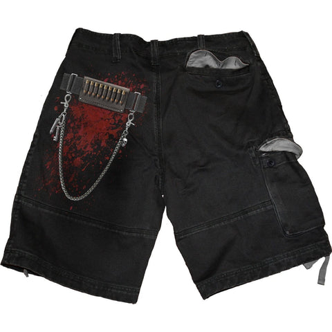 Image of HOLSTER - Vintage Cargo Shorts Black - Spiral USA
