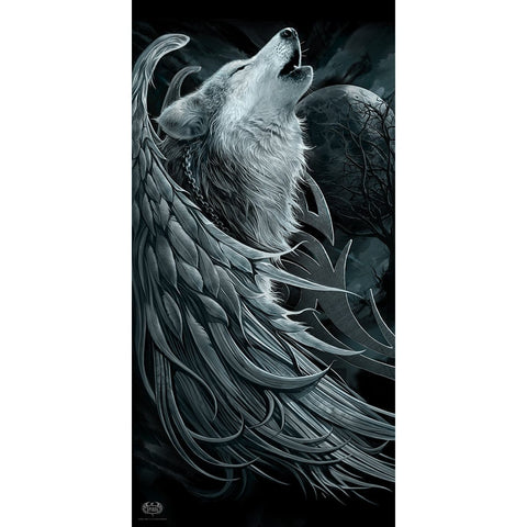 Image of WOLF SPIRIT - Bath Towel 70x140cm