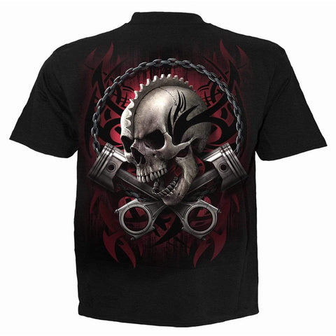 SOUL RIDER - T-Shirt Black - Spiral USA