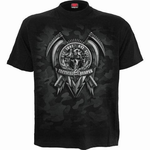Image of TACTICAL REAPER - T-Shirt Black - Spiral USA
