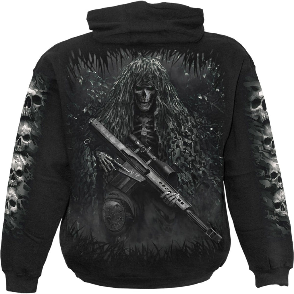 TACTICAL REAPER - Hoody Black - Spiral USA