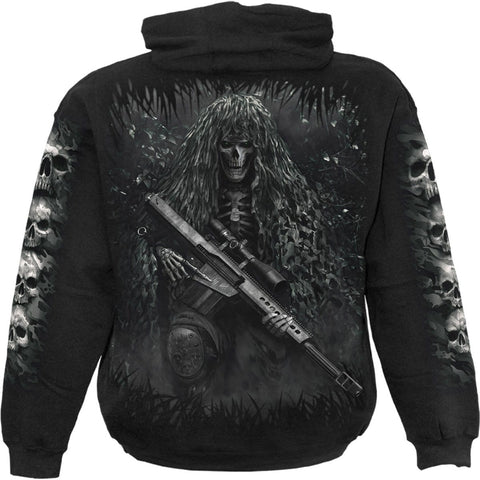 Image of TACTICAL REAPER - Hoody Black - Spiral USA