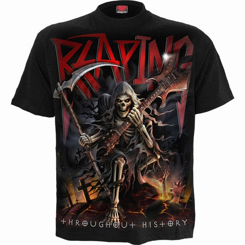 Image of REAPING TOUR - T-Shirt Black - Spiral USA