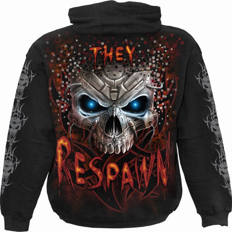 Image of RESPAWN - Hoody Black - Spiral USA
