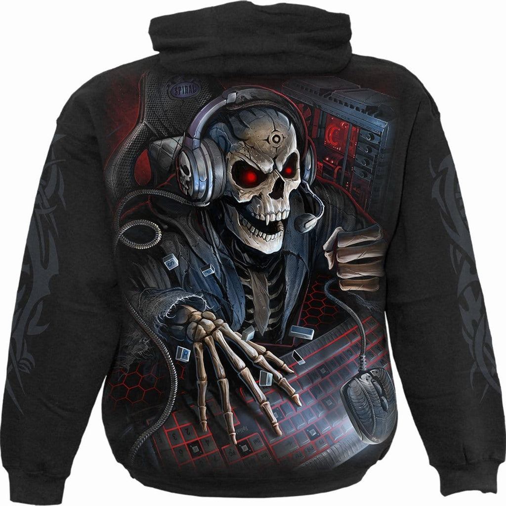 PC GAMER - Kids Hoody Black - Spiral USA