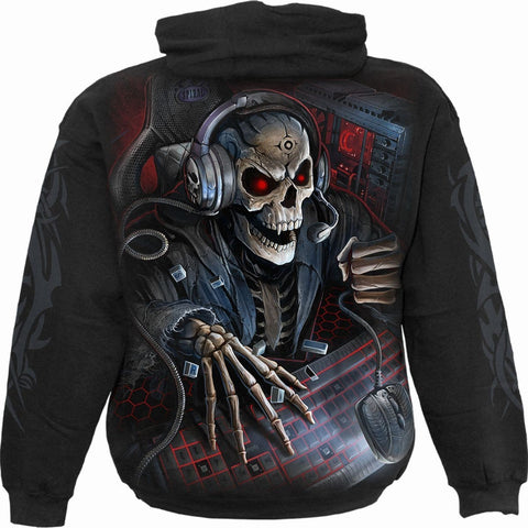 Image of PC GAMER - Kids Hoody Black - Spiral USA
