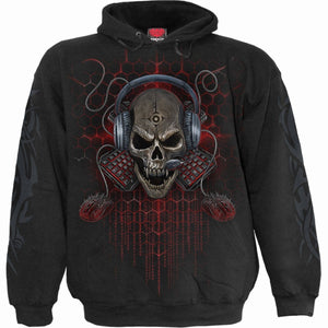 PC GAMER - Hoody Black - Spiral USA