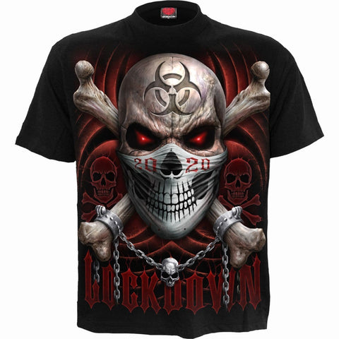 LOCKDOWN 2020 - T-Shirt Black - Spiral USA