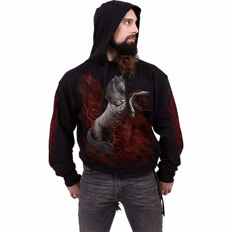 INFERNAL UNICORN - Hoody Black - Spiral USA
