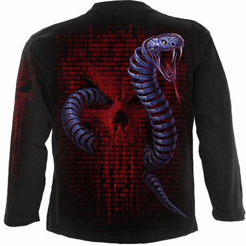 Image of PYTHON - Longsleeve T-Shirt Black