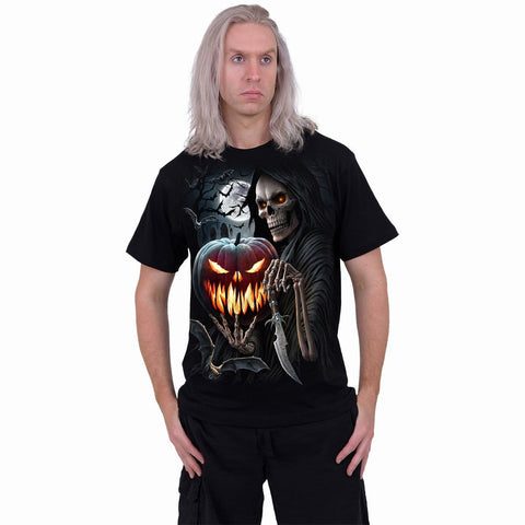 Image of CARVING DEATH - T-Shirt Black - Spiral USA