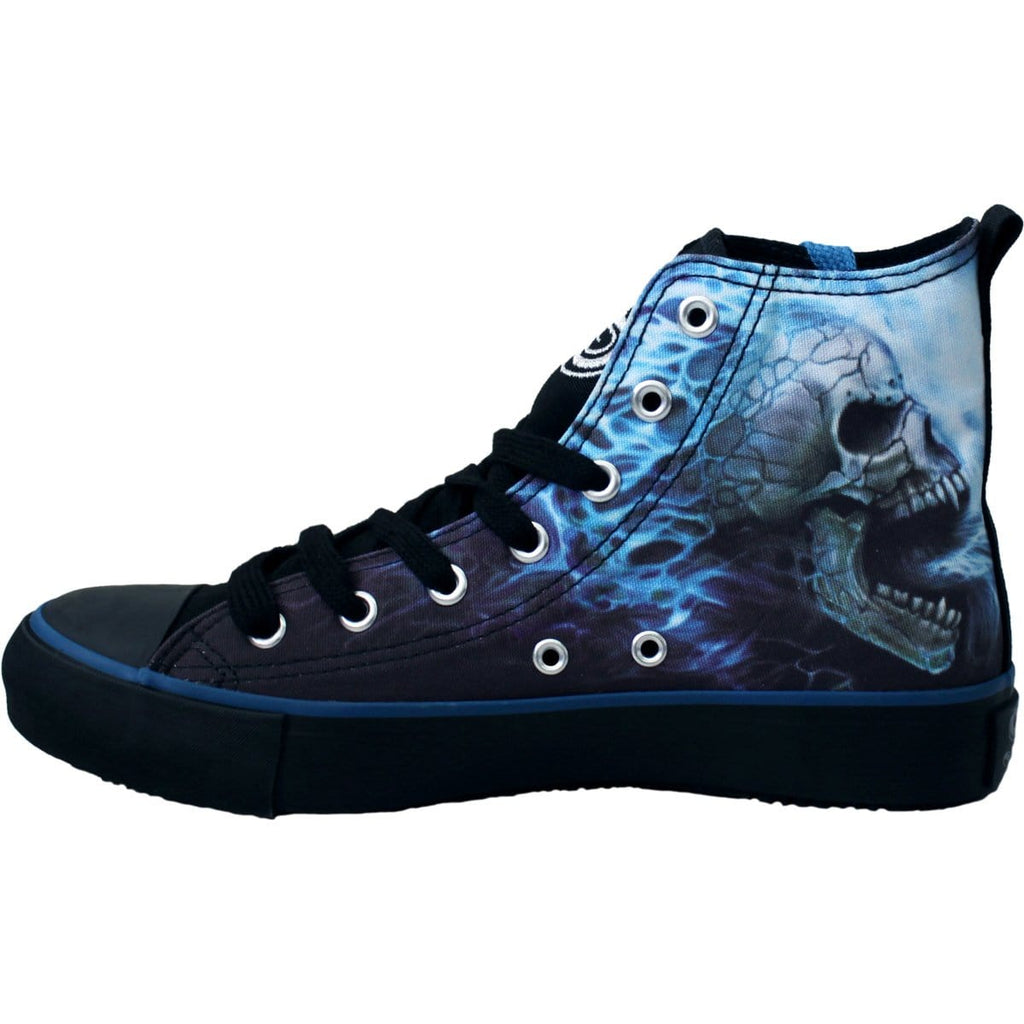 FLAMING SPINE - Sneakers - Ladies High Top Laceup - Spiral USA