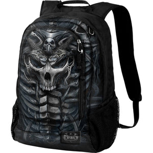 SKULL ARMOUR - Back Pack - With Laptop Pocket - Spiral USA