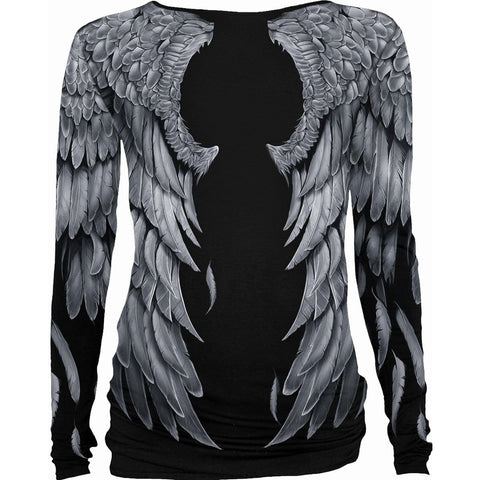 Image of SERAPHIM - Allover Baggy Top  Black - Spiral USA