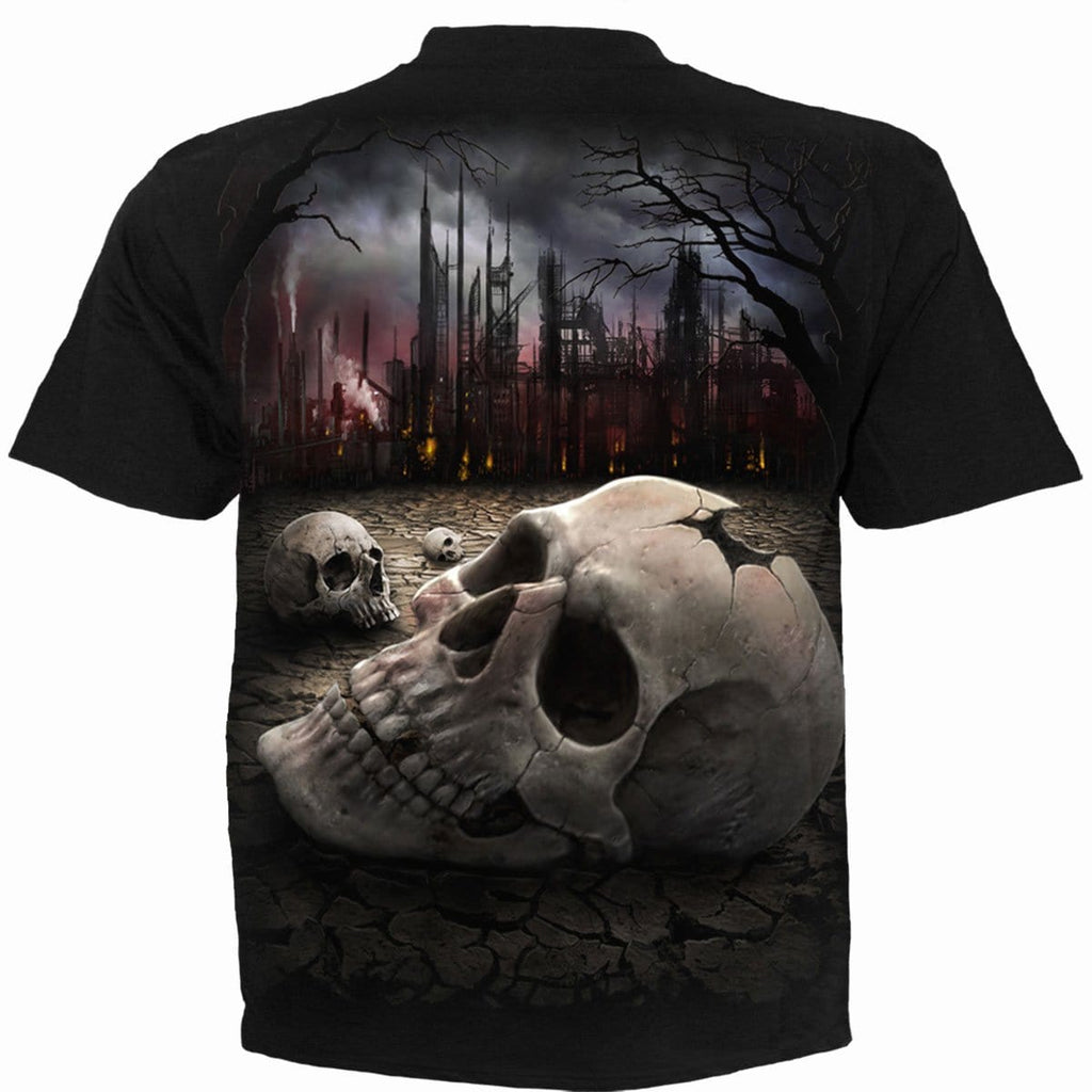 DEAD WORLD - T-Shirt Black - Spiral USA