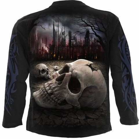Image of DEAD WORLD - Longsleeve T-Shirt Black - Spiral USA