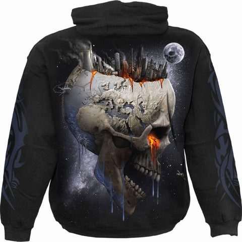 Image of DEAD WORLD - Hoody Black - Spiral USA