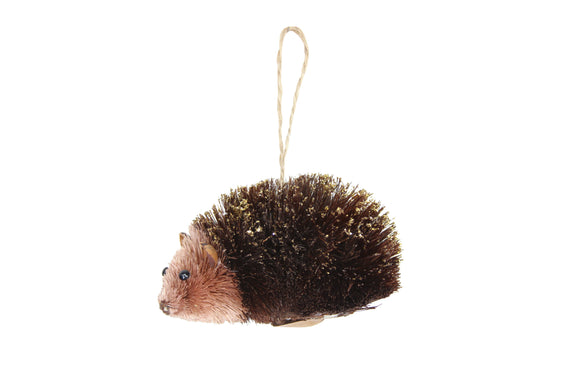 Hanging Bristle Hedgehog Decoration