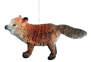 Bristle fox hanging decoration