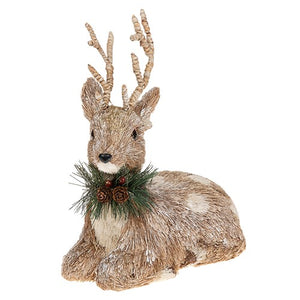Bristle Reindeer Decoration