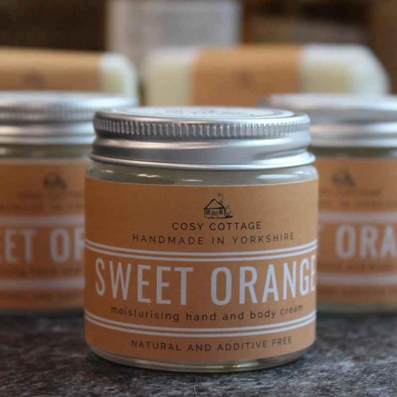 30ml Sweet Orange Hand & Body Cream 1