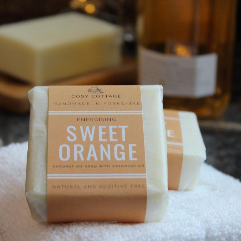 55g Sweet Orange Soap Bar 1