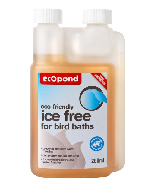 Ice-Free Solution for Bird Baths
