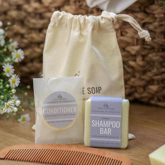 Ethical Haircare Set Gift Bag 1