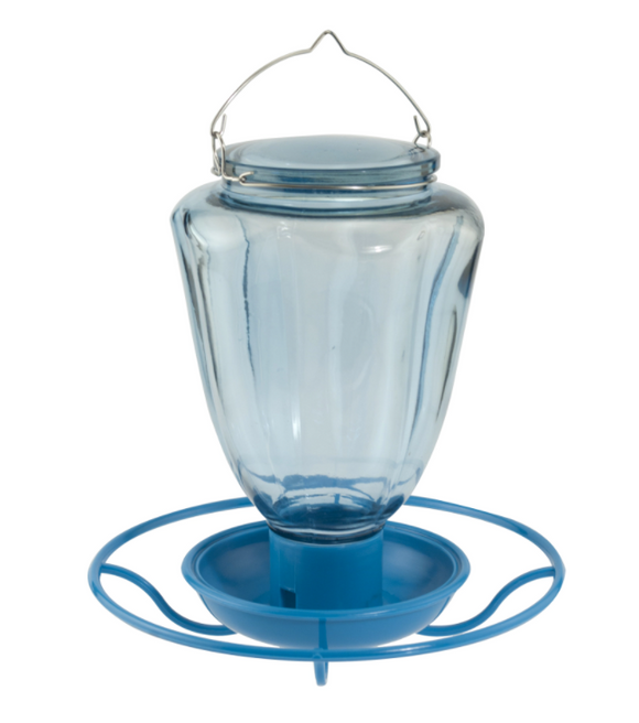 Glass Hanging Water Drinker