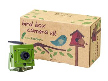 Green Feathers WiFi Bird Box Camera 1