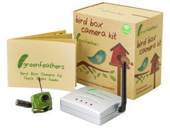 Green Feathers Wireless Bird Box Camera 1